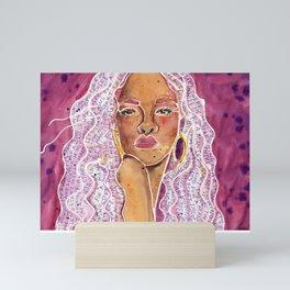 Rihanna Mini Art Print