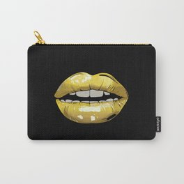 Gold Lip Carry-All Pouch