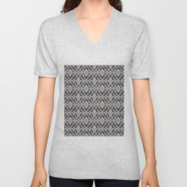 Bright ethnic pattern. Unisex V-Neck