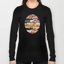 Glitch Pin-Up Redux: Jessica Long Sleeve T-shirt