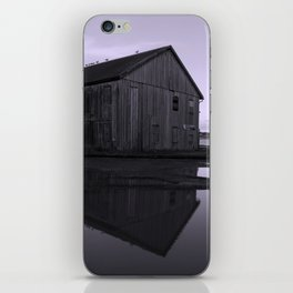 Warehouse Reflection in Lavender iPhone Skin
