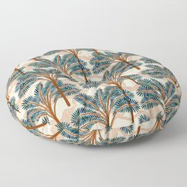 Exotic Palms No. 002 / Oasis in the Desert Floor Pillow