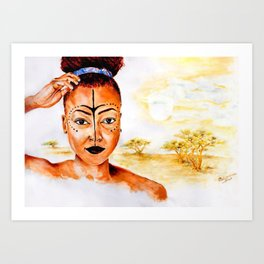 """Princess of Zamunda"" Art Print"