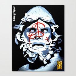 Tyrant Anarchy by Hard Grafixs© Canvas Print
