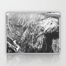 Canyon Black and White Laptop & iPad Skin
