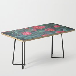 Camellias, lips and berries. Coffee Table