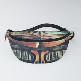 China Beijing Daxing International Airport Artistic Illustration Picasso Style Fanny Pack