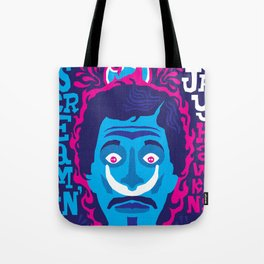 THE ROOTS OF HORROR ROCK :: SCREAMIN' JAY HAWKINS Tote Bag