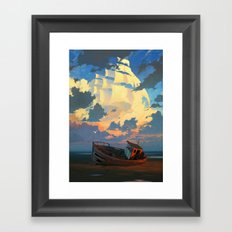 Lost and Forgotten Framed Art Print