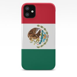 Mexican flag of Mexico iPhone Case