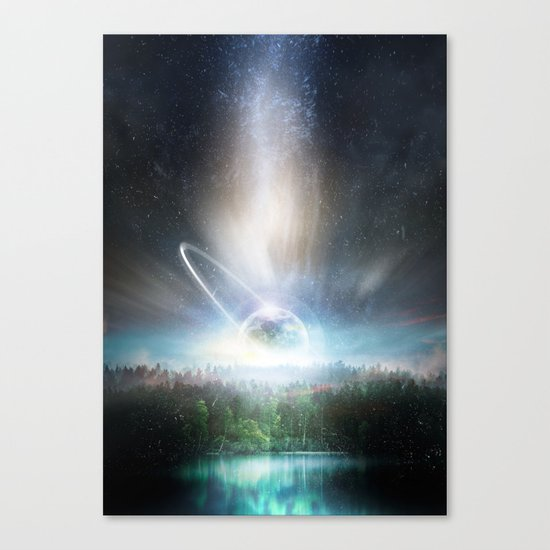 Death cup Canvas Print