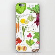 Seasons eatings iPhone & iPod Skin