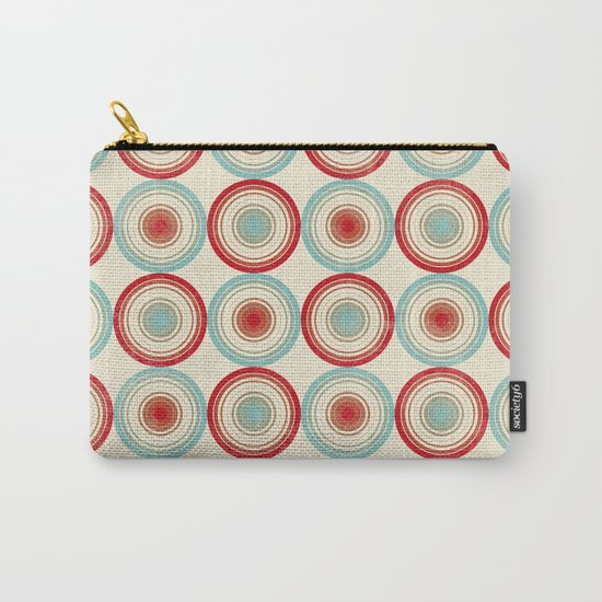 Colorful Circles III Carry-All Pouch