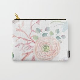 Ocean blossom Carry-All Pouch