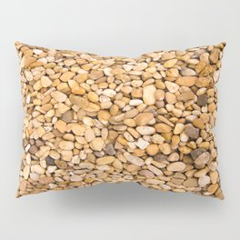 Beach Pebbles Design Pillow Sham