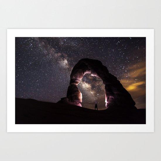 Delicate Nights Art Print