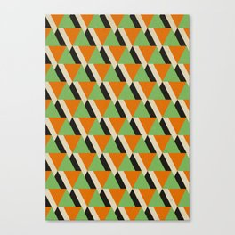 Retrospect, Triangle Duo, No. 05 Canvas Print