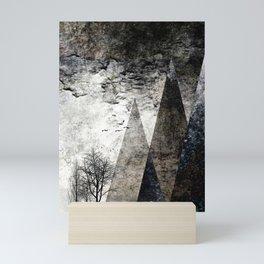 TREES besides MAGIC MOUNTAINS I Mini Art Print