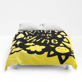 Rain or Shine Comforters