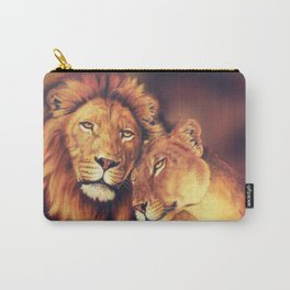 Lions Soulmates Carry-All Pouch