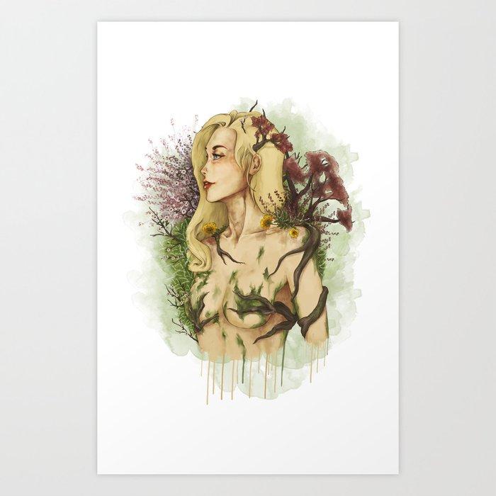 Feminine Nature Art Print