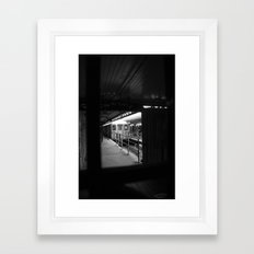 1st Stop Framed Art Print