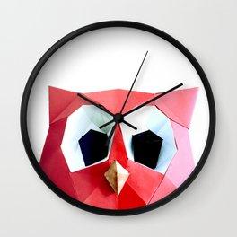 hoot hoot papier Wall Clock
