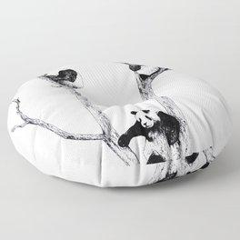 The Panda Tree Floor Pillow