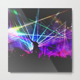 Wake Me up Metal Print