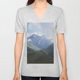 Mountains Unisex V-Neck
