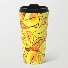 Yellow Leaves - Ver 1 (you can create set with Yellow Leaves Ver 2) Travel Mug