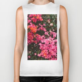 California Blooms IV Biker Tank