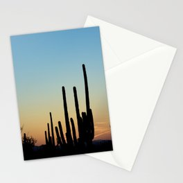 Sunset Cacti 2 Stationery Cards
