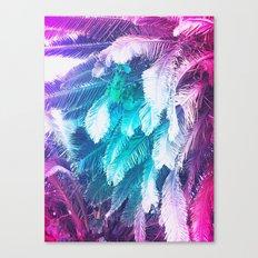 Rainbow Jungle Canvas Print