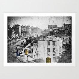 Daguerre In Time! Art Print
