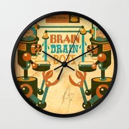 Brain Drain Bots Wall Clock