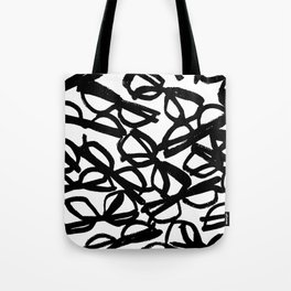 Black Eyeglasses Tote Bag