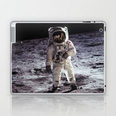 Buzz Aldrin on the Moon Laptop & iPad Skin
