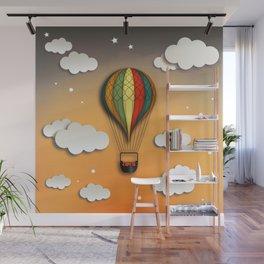 Balloon Aeronautics Dawn Wall Mural