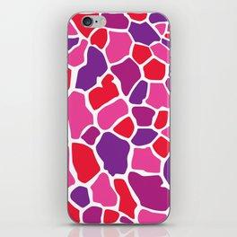 Giraffe Print iPhone Skin
