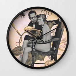 Botanical Bugs & Bod Wall Clock