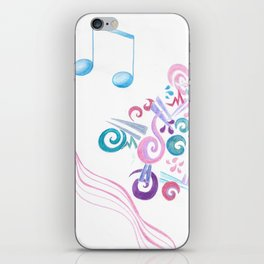The Color of Music iPhone Skin