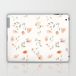 Watercolor Floral Pattern Laptop & iPad Skin