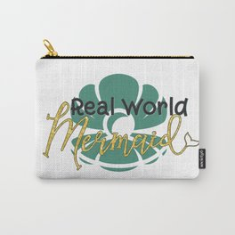 Real World Mermaid Carry-All Pouch