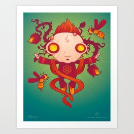 HIVES Art Print