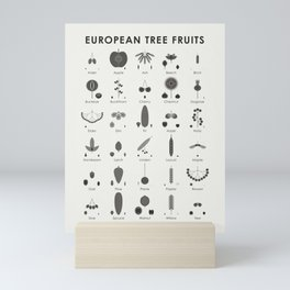 European Tree Fruits Mini Art Print