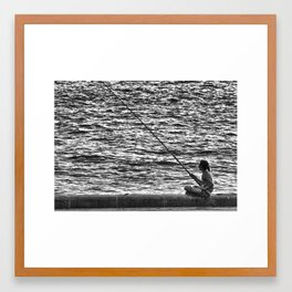 Sydney Solitude Framed Art Print