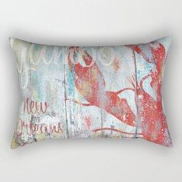 New Orleans Gumbo Sign Rectangular Pillow