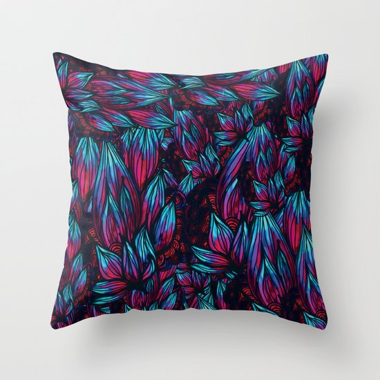 Pokey Pattern Throw Pillow