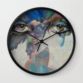 Gothic Butterflies Wall Clock
